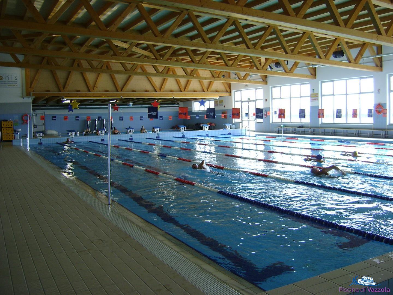 Vasca Da 25 Metri Tempi : Vasche ed impianto sportivo piscina di vazzola